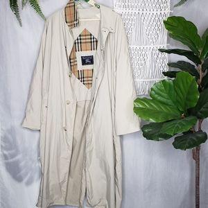 Burberry Men's Vintage Trench Coat Nova Check 42